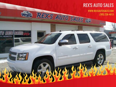 2007 Chevrolet Suburban for sale at Rex's Auto Sales in Junction City KS