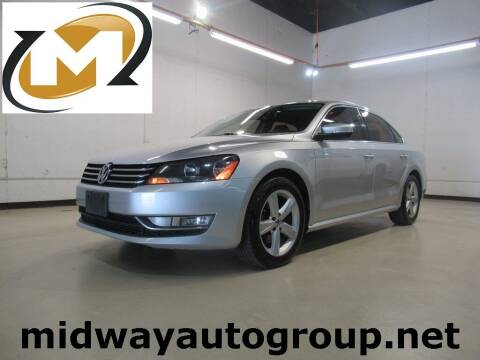 2015 Volkswagen Passat for sale at Midway Auto Group in Addison TX