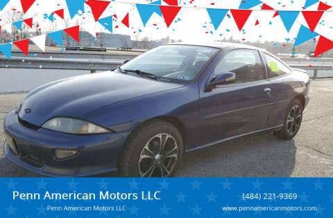 1999 Chevrolet Cavalier for sale at Penn American Motors LLC in Allentown PA