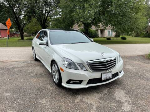 2011 Mercedes-Benz E-Class for sale at CARWIN MOTORS in Katy TX