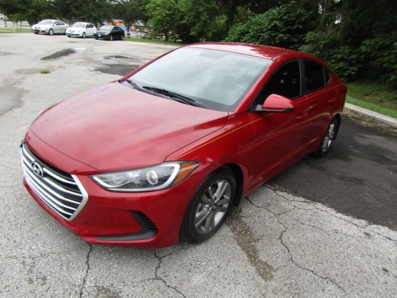 2017 Hyundai Elantra for sale at S & T Motors in Hernando FL