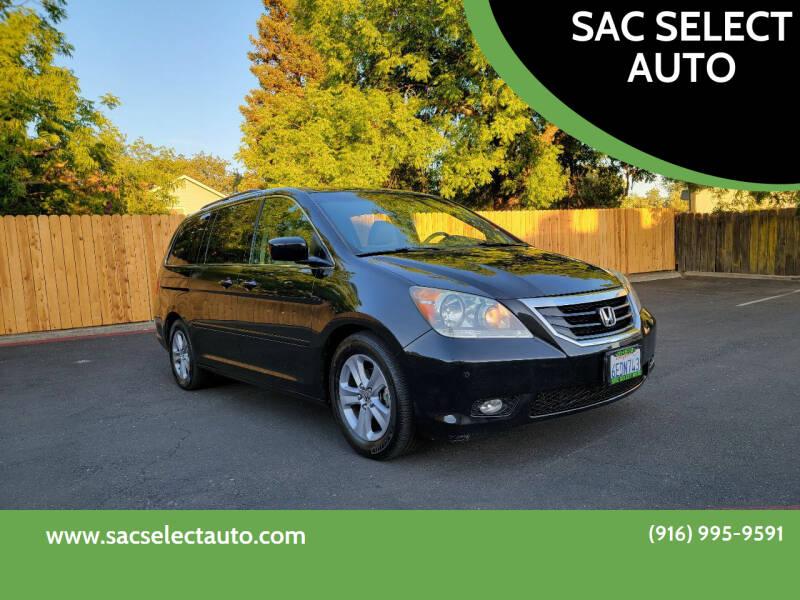 2008 Honda Odyssey for sale at SAC SELECT AUTO in Sacramento CA