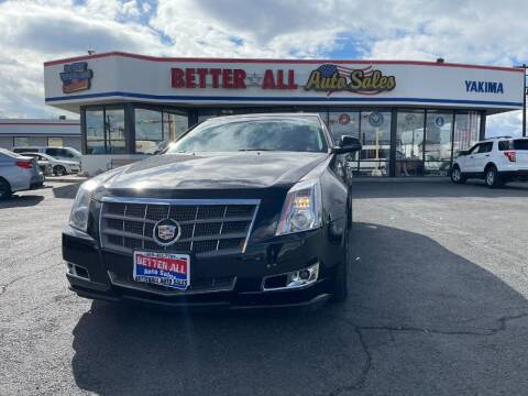 2011 Cadillac CTS for sale at Better All Auto Sales in Yakima WA