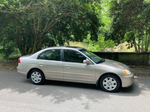 2001 Honda Civic for sale at Bull City Auto Sales and Finance in Durham NC