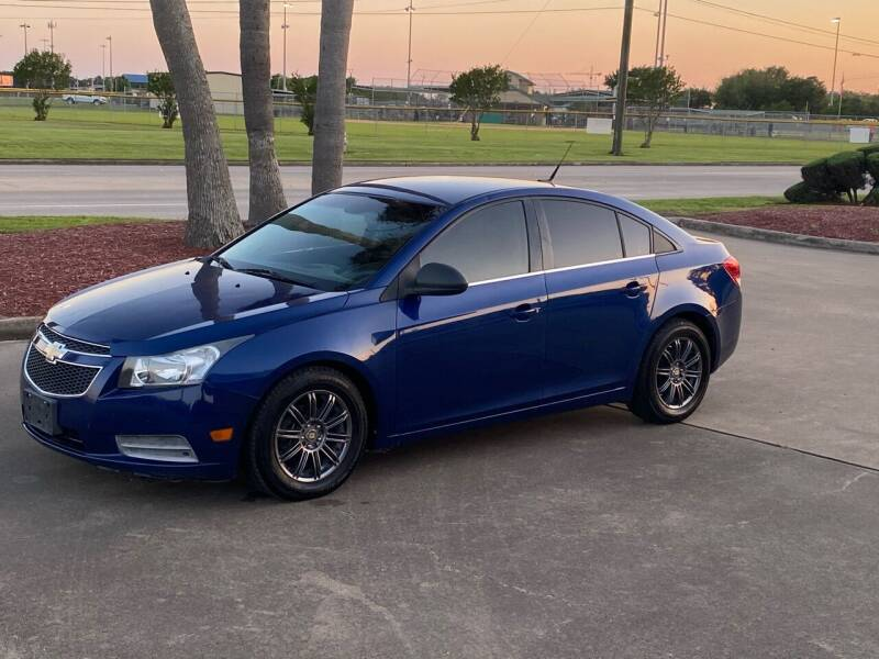 2012 Chevrolet Cruze for sale at M A Affordable Motors in Baytown TX