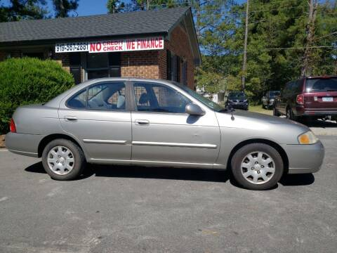 2001 Nissan Sentra for sale at Tri State Auto Brokers LLC in Fuquay Varina NC