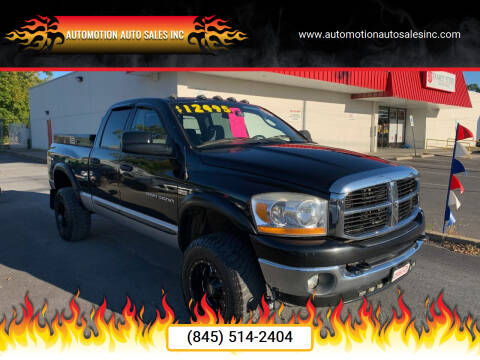 2006 Dodge Ram Pickup 2500 for sale at Automotion Auto Sales Inc in Kingston NY