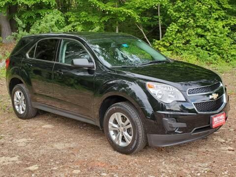 2013 Chevrolet Equinox for sale at Bethel Auto Sales in Bethel ME