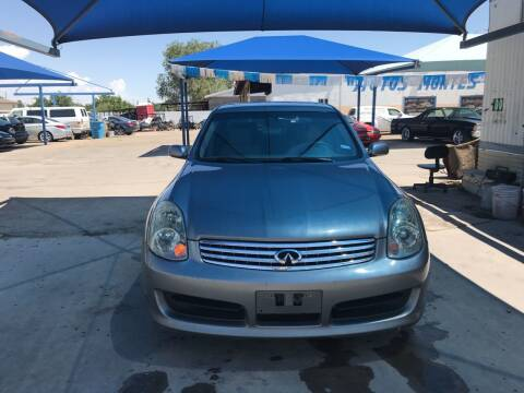 2004 Infiniti G35 for sale at Autos Montes in Socorro TX