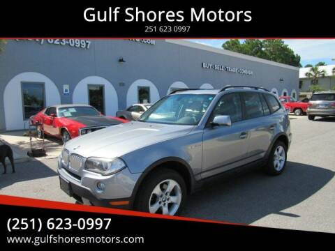 2007 BMW X3 for sale at Gulf Shores Motors in Gulf Shores AL