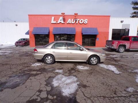 2002 Honda Accord for sale at L A AUTOS in Omaha NE