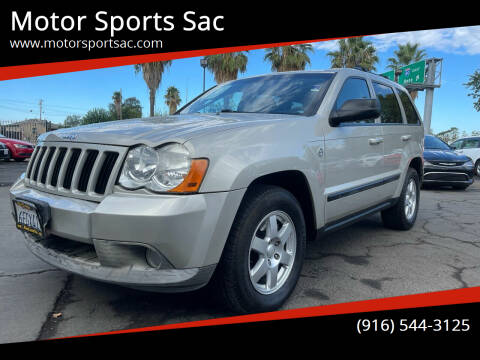 2008 Jeep Grand Cherokee for sale at Motor Sports Sac in Sacramento CA
