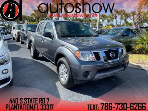 2017 Nissan Frontier for sale at AUTOSHOW SALES & SERVICE in Plantation FL