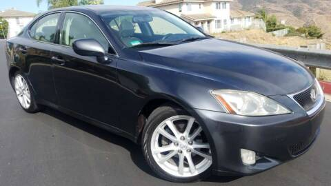 2007 Lexus IS 250 for sale at Trini-D Auto Sales Center in San Diego CA