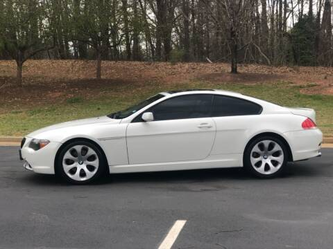 2005 BMW 6 Series for sale at Top Notch Luxury Motors in Decatur GA