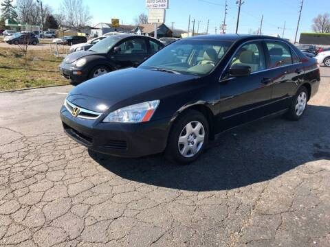 2006 Honda Accord for sale at A Class Auto Sales in Indianapolis IN
