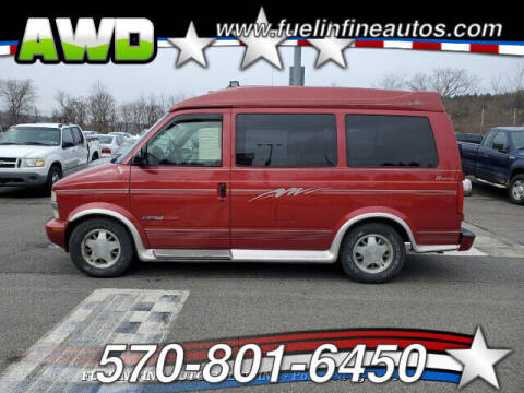 2000 Chevrolet Astro for sale at FUELIN FINE AUTO SALES INC in Saylorsburg PA
