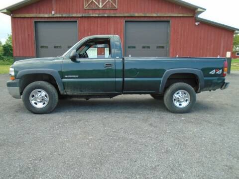 2001 Chevrolet Silverado 2500HD for sale at Celtic Cycles in Voorheesville NY