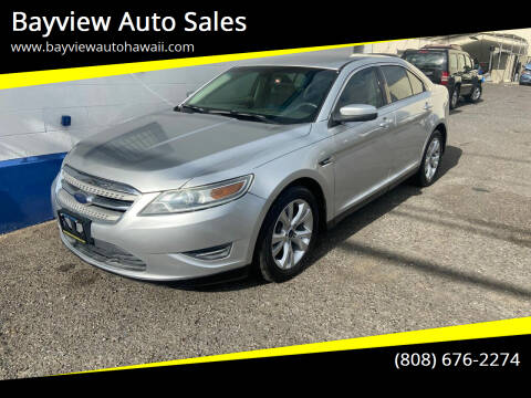 2010 Ford Taurus for sale at Bayview Auto Sales in Waipahu HI