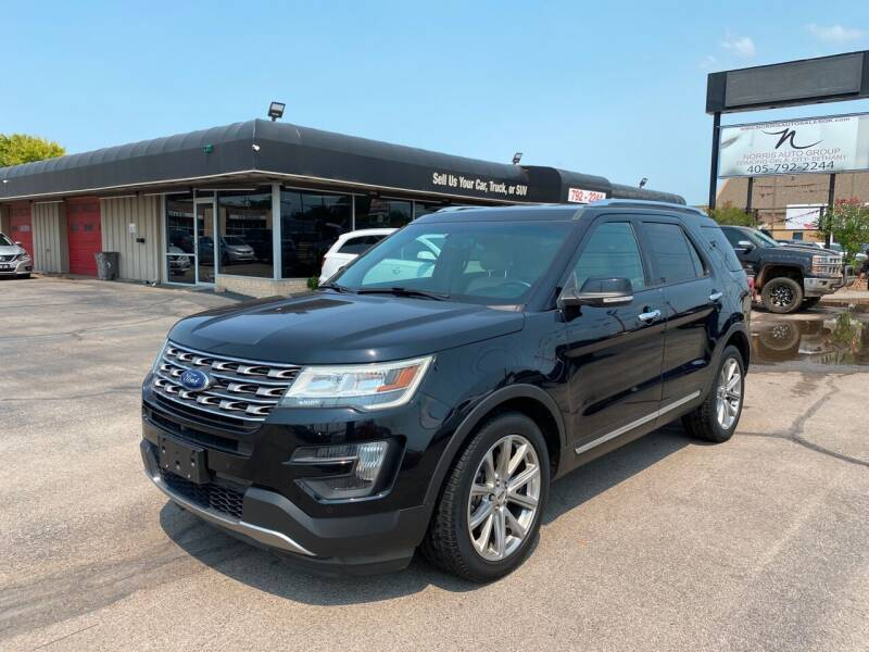 2016 Ford Explorer for sale at NORRIS AUTO SALES in Oklahoma City OK