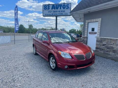 2007 Pontiac Vibe for sale at 83 Autos in York PA