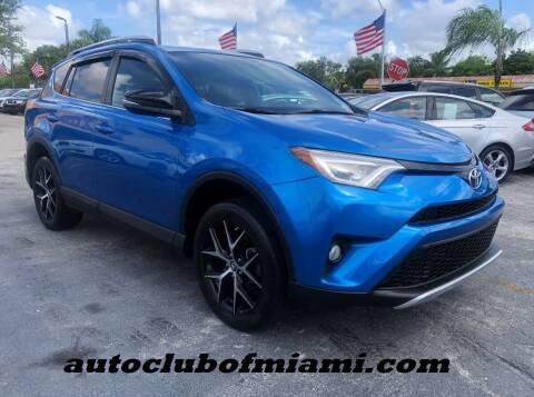 2016 Toyota RAV4 for sale at AUTO CLUB OF MIAMI, INC in Miami FL