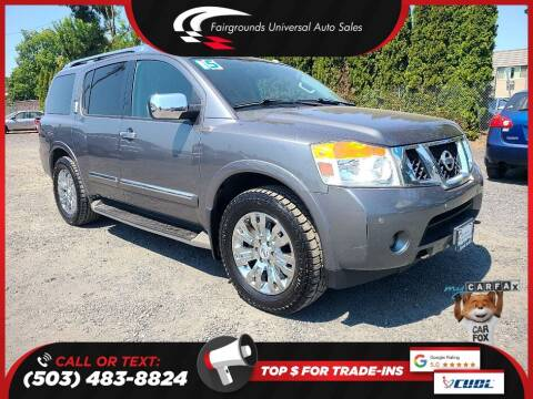 2015 Nissan Armada for sale at Universal Auto Sales in Salem OR