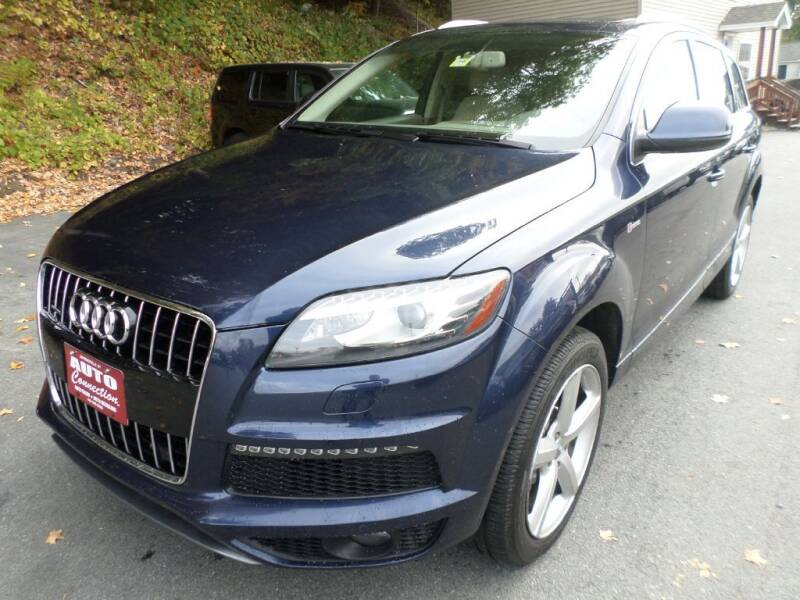 2014 Audi Q7 for sale at AUTO CONNECTION LLC in Springfield VT
