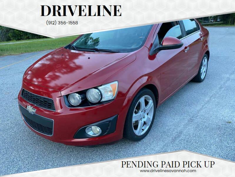 2013 Chevrolet Sonic for sale at DRIVELINE in Savannah GA