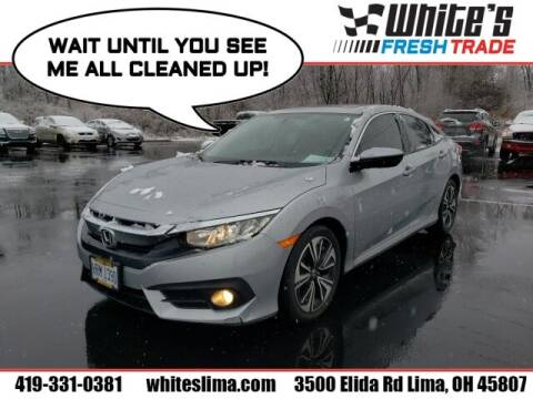 2016 Honda Civic for sale at White's Honda Toyota of Lima in Lima OH