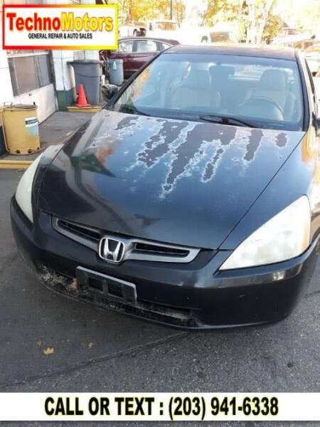 2003 Honda Accord for sale at Techno Motors in Danbury CT