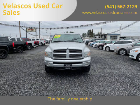2004 Dodge Ram Pickup 1500 for sale at Velascos Used Car Sales in Hermiston OR