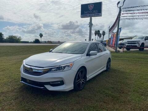 2017 Honda Accord for sale at A & V MOTORS in Hidalgo TX