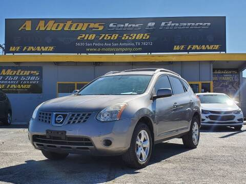 2008 Nissan Rogue for sale at A MOTORS SALES AND FINANCE in San Antonio TX
