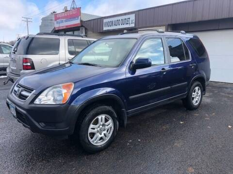 2003 Honda CR-V for sale at WINDOM AUTO OUTLET LLC in Windom MN