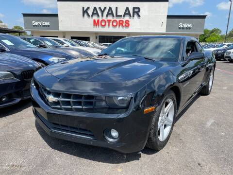 2011 Chevrolet Camaro for sale at KAYALAR MOTORS in Houston TX