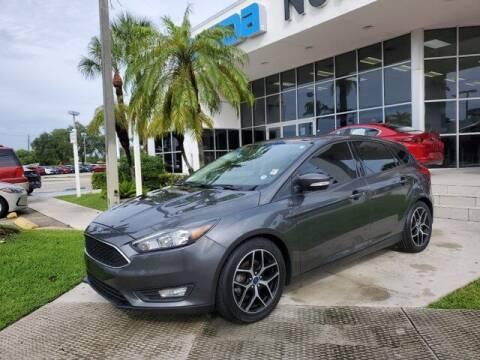 2018 Ford Focus for sale at Mazda of North Miami in Miami FL