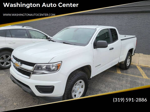 2019 Chevrolet Colorado for sale at Washington Auto Center in Washington IA