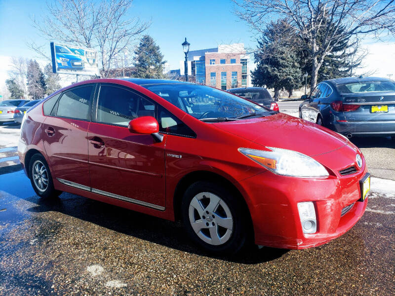 2010 Toyota Prius for sale at J & M PRECISION AUTOMOTIVE, INC in Fort Collins CO