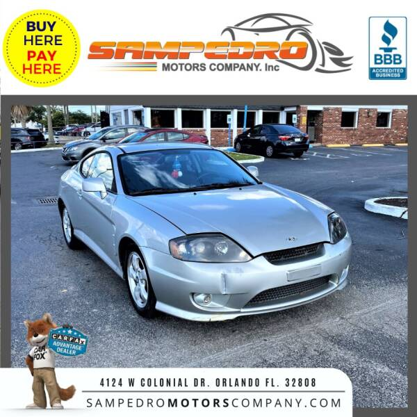 2006 Hyundai Tiburon for sale in Orlando, FL
