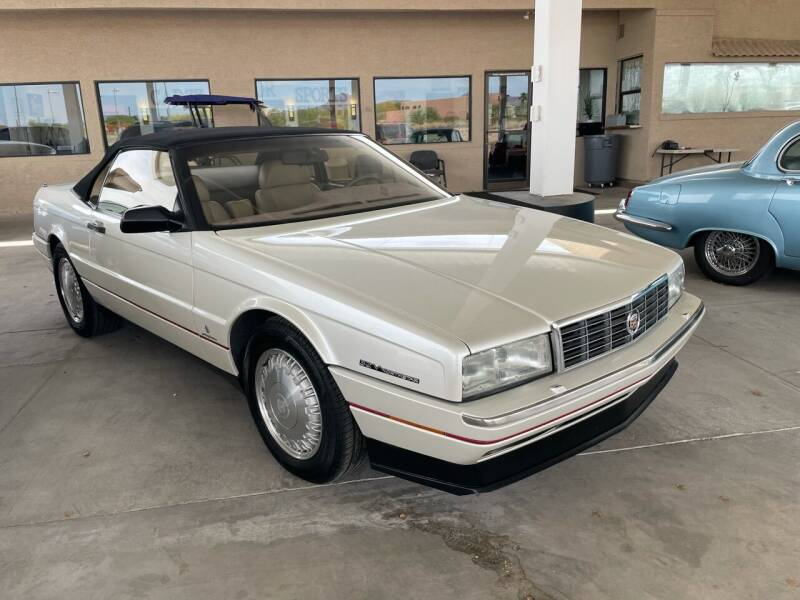1993 Cadillac Allante for sale at Carzz Motor Sports in Fountain Hills AZ