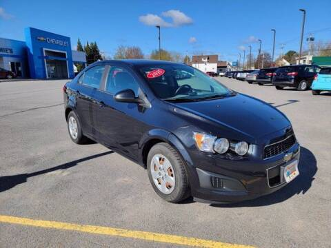 2015 Chevrolet Sonic for sale at Frenchie's Chevrolet and Selects in Massena NY