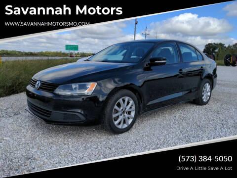 2011 Volkswagen Jetta for sale at Savannah Motors in Elsberry MO