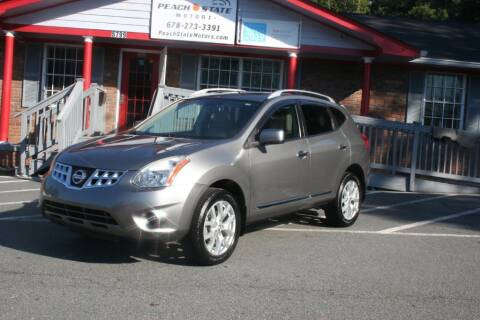 2011 Nissan Rogue for sale at Peach State Motors Inc in Acworth GA