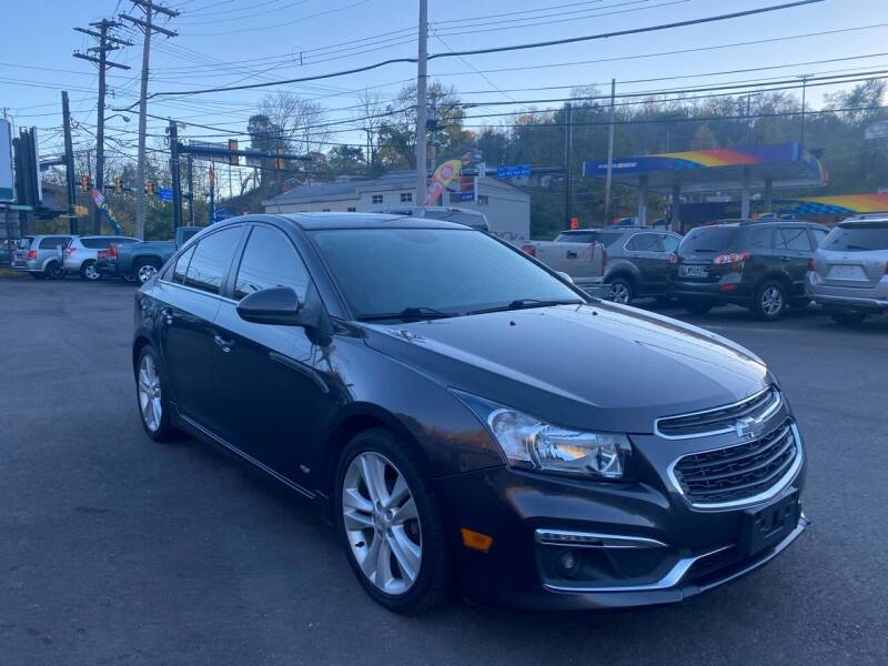 2015 Chevrolet Cruze for sale at Ultra 1 Motors in Pittsburgh PA