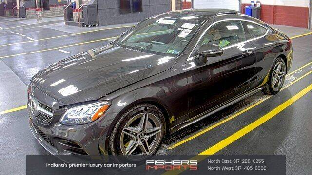 2019 Mercedes-Benz C-Class for sale at Fishers Imports in Fishers IN