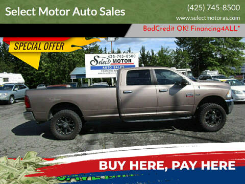 2010 Dodge Ram Pickup 2500 for sale at Select Motor Auto Sales in Lynnwood WA