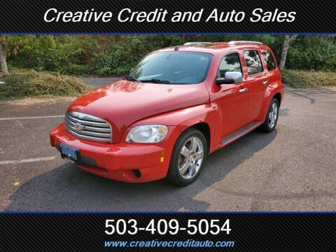 2011 Chevrolet HHR for sale at Creative Credit & Auto Sales in Salem OR