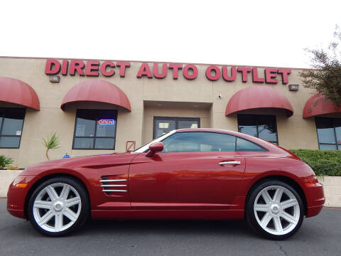 2004 Chrysler Crossfire for sale at Direct Auto Outlet LLC in Fair Oaks CA