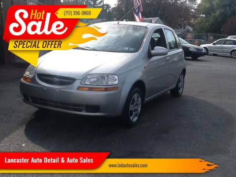 2004 Chevrolet Aveo for sale at Lancaster Auto Detail & Auto Sales in Lancaster PA